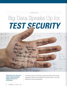 White Paper: Big Data Speaks Up for Test Security