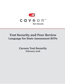 Test Security and Peer Review - Language for State Assessment RFPs