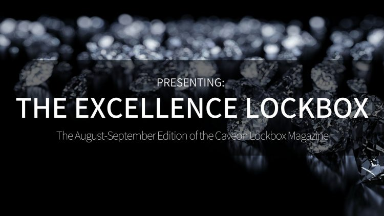 The Excellence Lockbox - August/September 2018