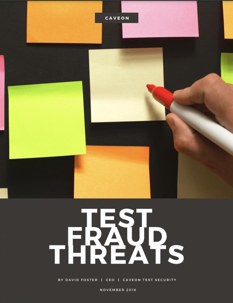 Test Fraud Threats White Paper
