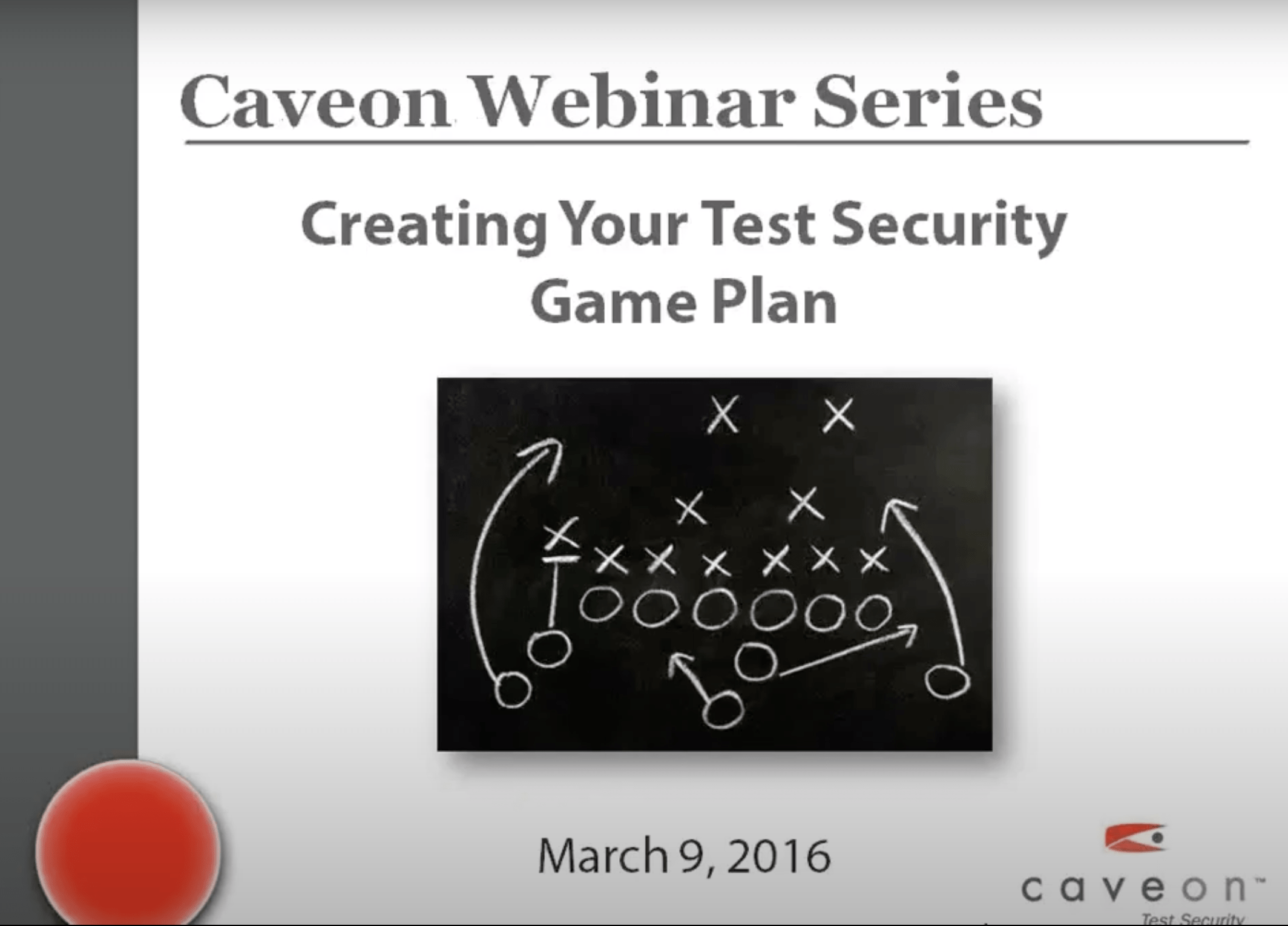 Creating Your Test Security Game Plan