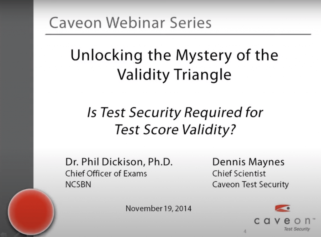 Is Test Security Required for Test Score Validity?