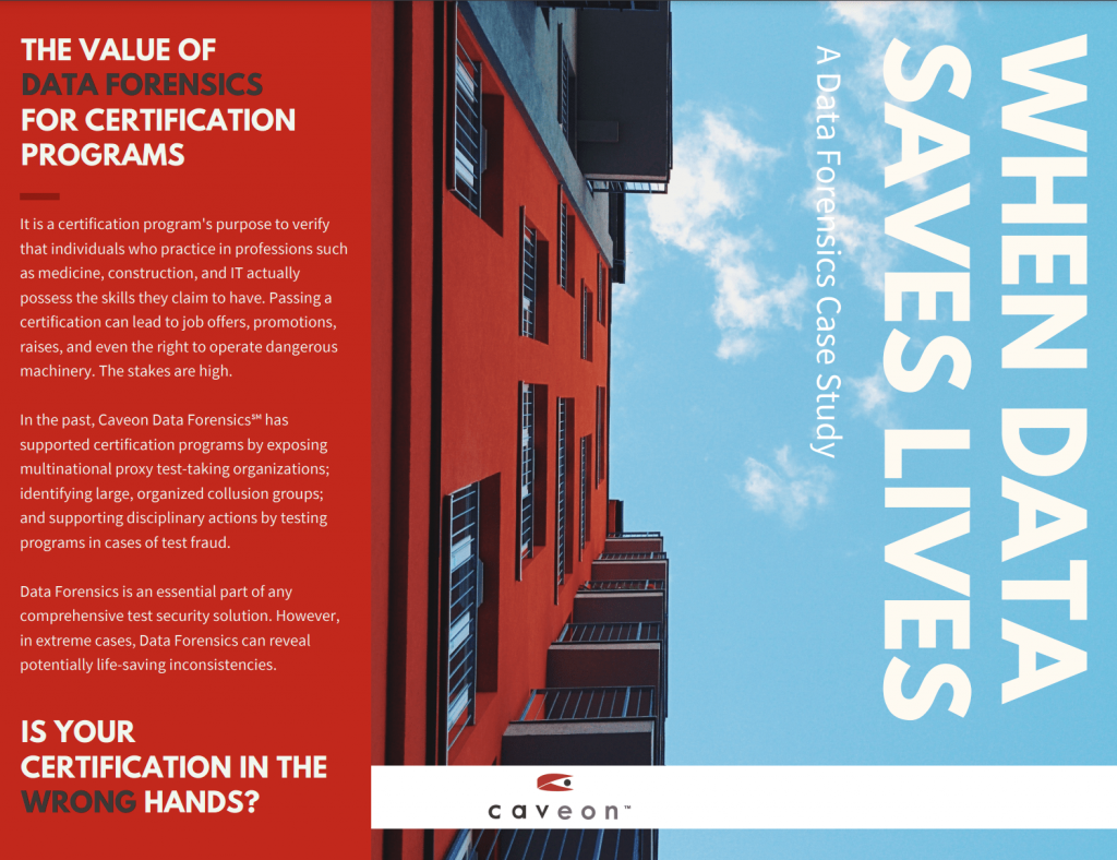 When Data Saves Lives Case Study